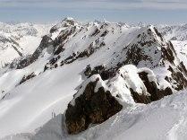 Ski depot at Gletscher Ducan