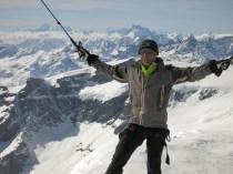 Me on Castor peak