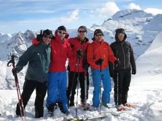 Resting at 2200m