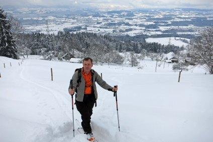 André above Wermetshausen (800m)