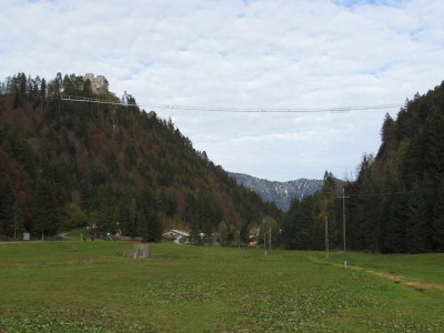 SWISSROPE - Hängebrücke in Reutte highline179 406 m
