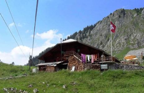 Restaurant in den Alpen mit eigener Seilbahn