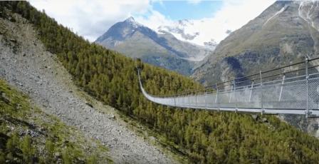 Hängebrücke Randa 494 m / EUROPAWEG