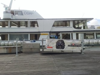 The boat that brought us to Nyon