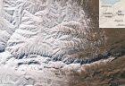 サハラ砂漠に降った37年ぶりの雪、NASAが撮影した衛星画像が公開される