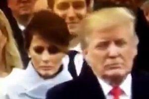 新大統領夫人のメラニアさん、夫に向ける表情の落差に多くの人が関心を寄せる