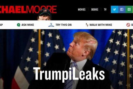マイケル・ムーア監督が内部告発サイトを開設、その名も「トランピリークス」