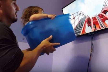娘をディズニー・ワールドへ連れて行けないパパ、ビデオと箱を使った作戦が大成功