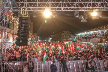 イラクのクルド人が独立の是非を問う住民投票を実施、有権者の78%が投票に参加