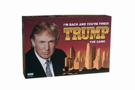 意外に傑作?30年前のトランプ大統領のボードゲーム「TRUMP THE GAME」が話題に