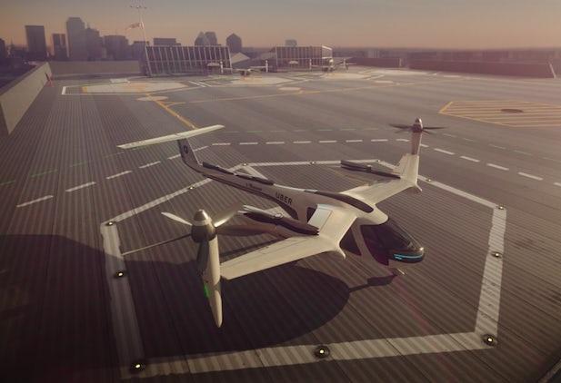 "NASAとUber、""空飛ぶタクシー""の実現に向け契約交わす"