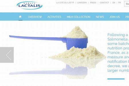 仏企業が83カ国で販売している粉ミルク製品、サルモネラ菌に汚染された疑いあり