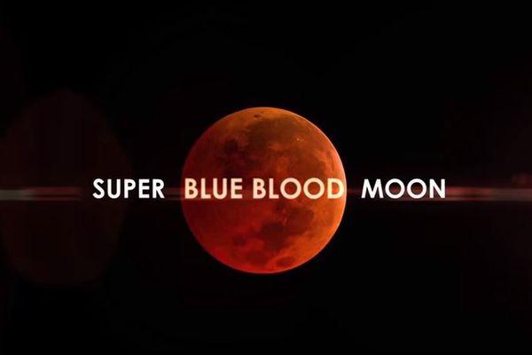 1月31日は「スーパー・ブルー・ブラッドムーン」、皆既月食を伴う赤い満月が夜空に浮上