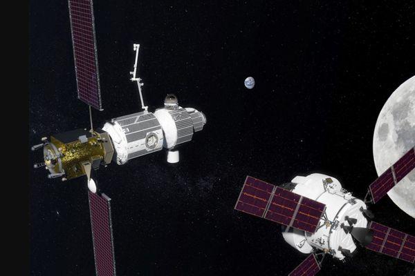 NASAが計画する月を回る新たな宇宙ステーション、来年から開発に着手