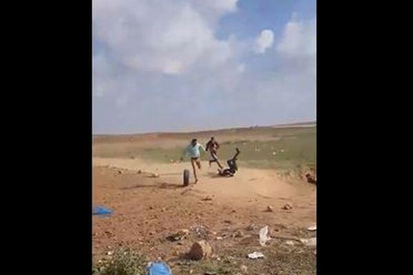 【閲覧注意】イスラエルの狙撃兵に撃たれるパレスチナ人の動画が公開される