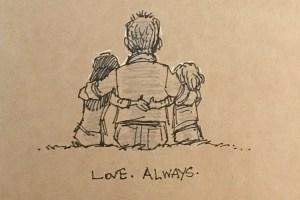 妻を失ってからの生活-元ディズニーアニメーターが描く絵日記が胸に響く