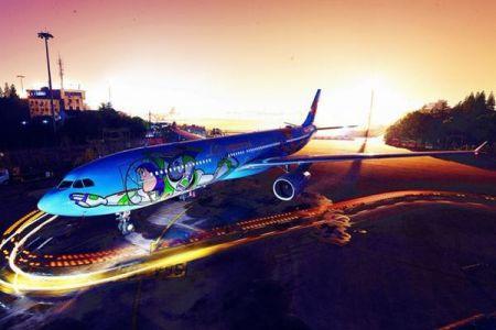 これはかわいい!中国の航空会社が「トイ・ストーリー」の機体を導入