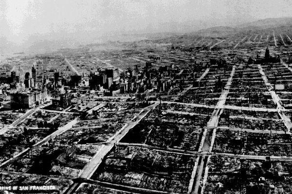 サンフランシスコで過去に起きた大地震、破壊された街の動画が痛ましい