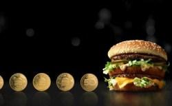 """米国マクドナルド、ビッグマック発売50周年を記念し""""コイン""""を発行"""