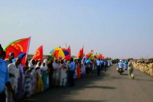 エチオピアとエリトリアの国境開放、両国リーダーが共に歩き、国民も歓喜
