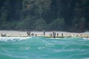 北センチネル島で殺害された宣教師、遺体回収に向けインド警察が動くも困難に直面