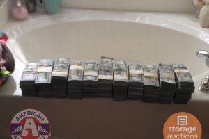 5万円で購入した貯蔵庫を開けてみたら8億円の紙幣が!所有者もびっくり