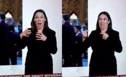 ブレグジットのニュースで、国民の気持ちを感情豊かに表した手話通訳者がユニーク
