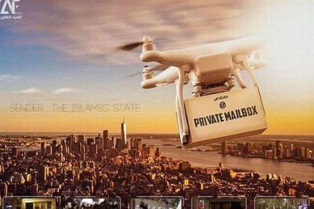 ネット上に現れたISISのポスター、ドローンによるテロ攻撃を示唆か