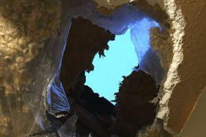 まるで氷のミステリーサークル!米の川で円盤状の巨大な氷が出現【動画】