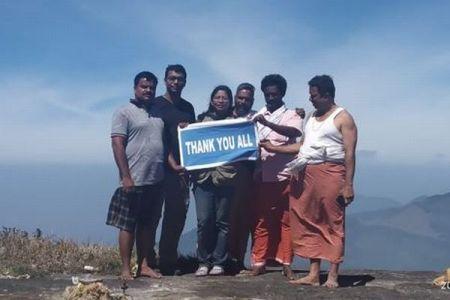 インドで昔から女人禁制とされてきた山に、初めて女性が登頂