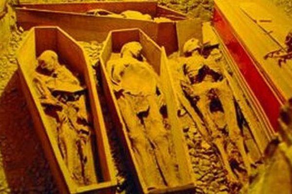 800年前の十字軍戦士のミイラ、首が切られ盗まれる