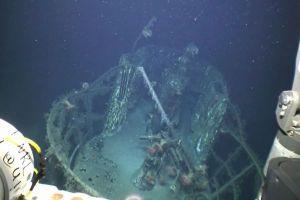 原油流出事故の影響で、沈んだUボートの腐食がバクテリアにより進む