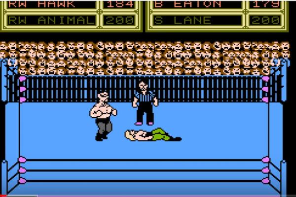 任天堂の元社員から個人的に買ったゲームは、発売されなかったレスリングゲームだった!