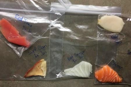 生物学の授業で寿司ネタをDNA鑑定したらホラーな結果が