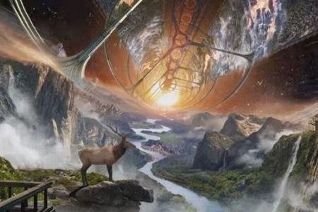 アマゾンCEOが「スペースコロニー」のイメージを公開、語られたビジョンとは?