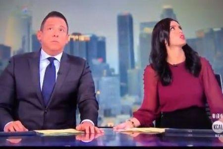 カリフォルニアで再びM7.1の地震、スタジオが激しく揺れキャスターも動揺