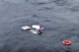 日本海で北朝鮮の男性を救助、発泡スチロールだけで10時間も漂い続けた