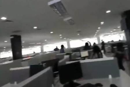フィリピン南部でM6.6の地震が発生、ビルの内部が大きく揺れる【動画】