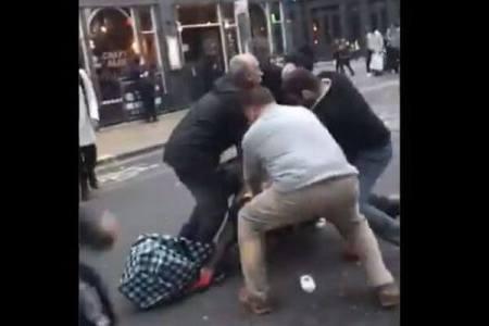 宝石店から出てきた強盗犯を、多くの市民が協力し取り押さえる【動画】