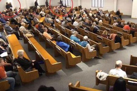 テキサス州の教会内で銃撃事件、教区民が素早く犯人を撃ち射殺