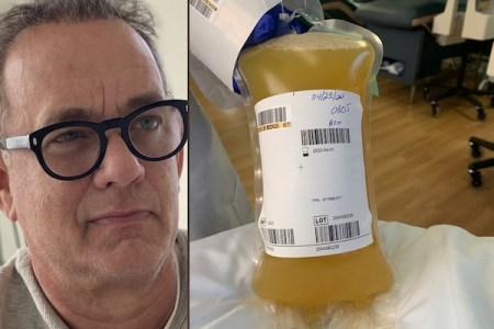 コロナ感染症から回復したトム・ハンクス、自分の血漿を研究所に提供
