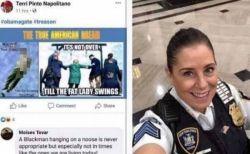アメリカ人の本音か?米の警察官がオバマ氏を縛り首にする絵を投稿し免職