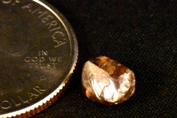 観光客がダイヤを探せる公園で、2.23カラットの大粒が出た