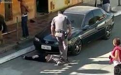 【ブラジル】警官が黒人女性の首を立ったまま踏みつける、映像が公開され批判殺到