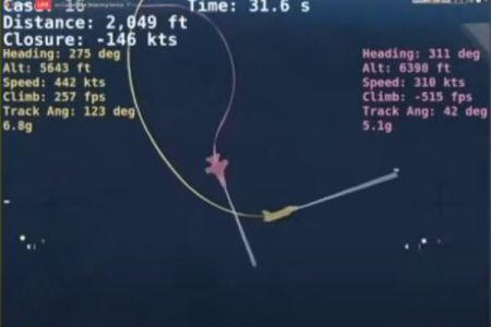 AIが人間のパイロットに勝利、バーチャル・ドッグファイトで戦闘機を撃墜