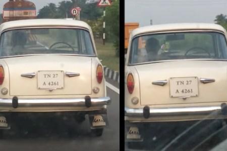運転手なしで走り回る謎の車がネットで話題【動画】