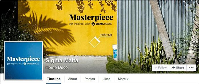 Facebook Page Sigma Malta