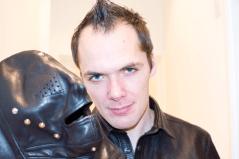 SlaveLDN with Master U fully lined horsehide leather hood