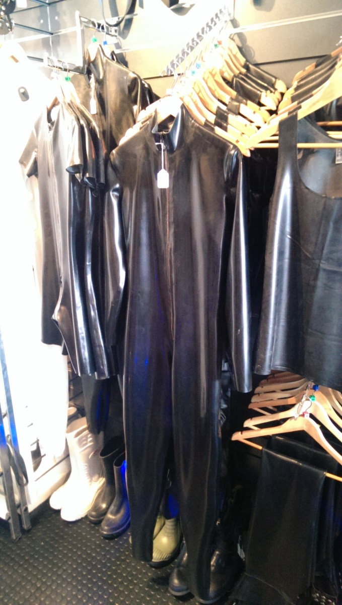Fetish Freak- Rubber Suits and other gear