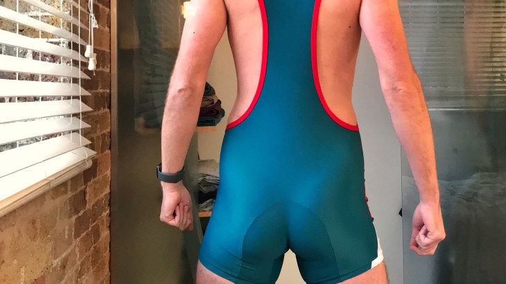 Lycra singlet from Recon - rear